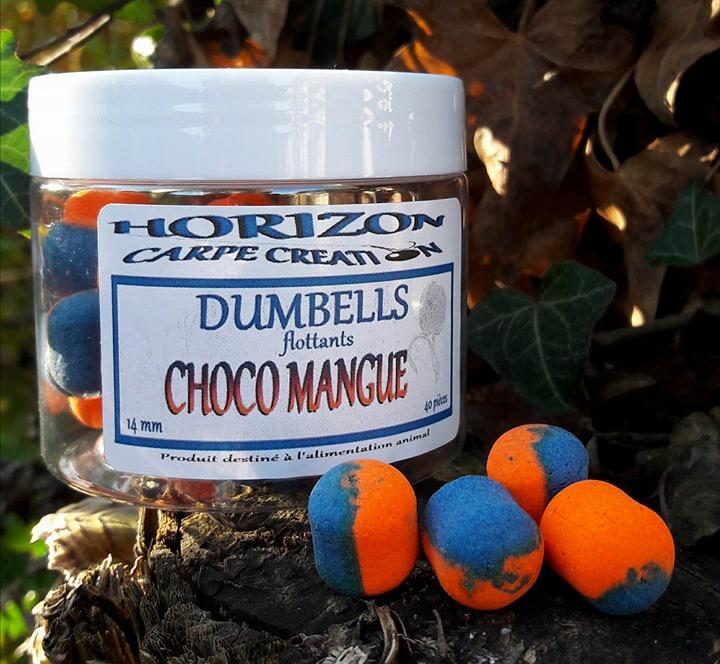 DUMBELLS CHOCO MANGUE