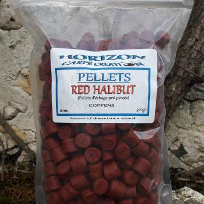 Pellet red halibut