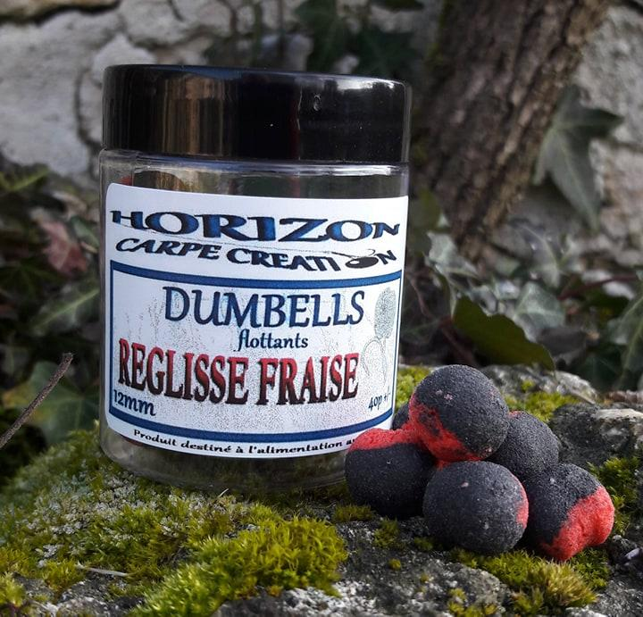 DUMBELLS FLOTTANTS REGLISSE/FRAISE